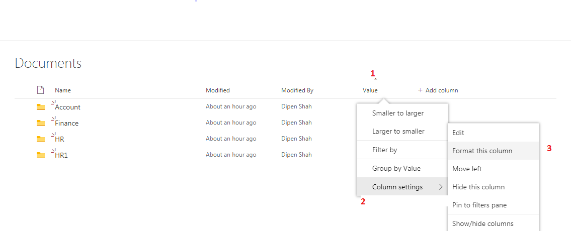 Column formatting In SharePoint Online – Tech Share Insider